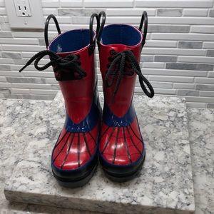 Spiderman rain boots brand new